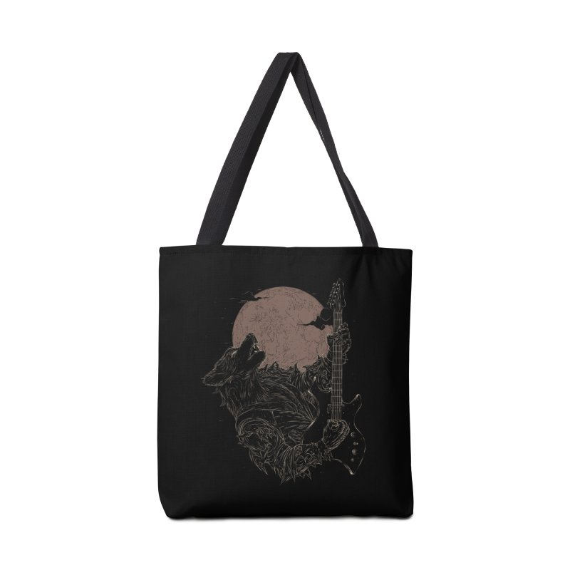 The Rock Werewolf Accessories Bag by ramos's Artist Shop