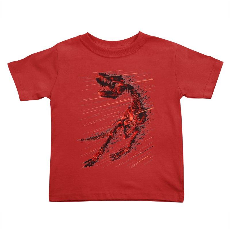 Extinction of a T Rex Kids Toddler T-Shirt by ramos's Artist Shop