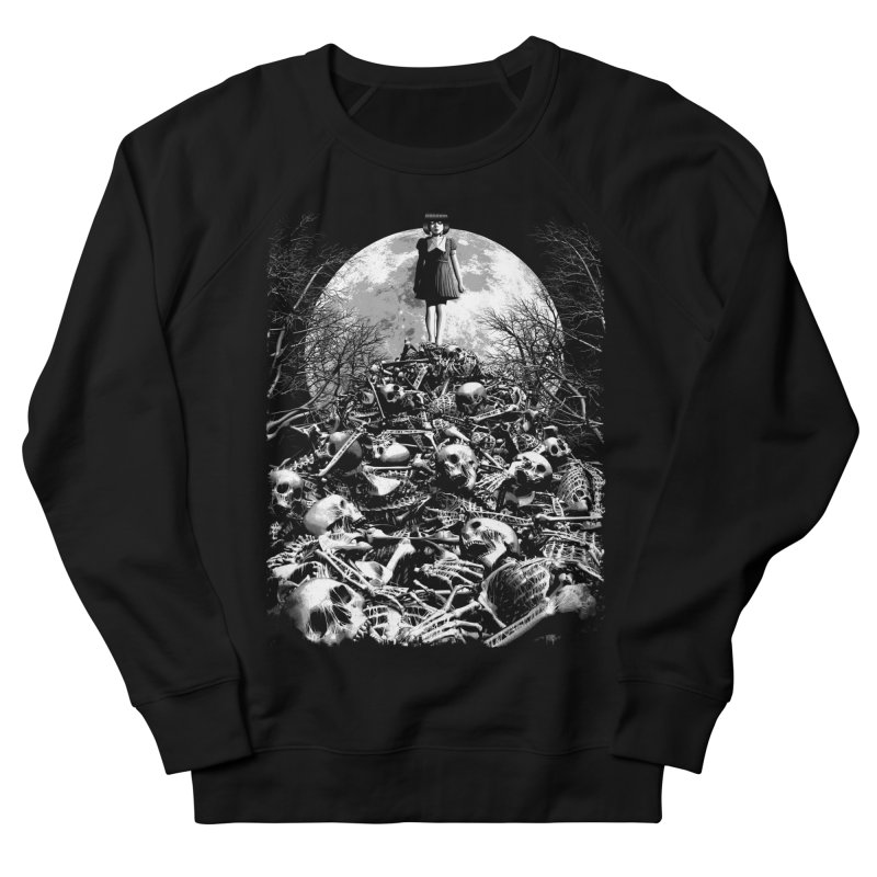Mountain of Bones Women's French Terry Sweatshirt by ramos's Artist Shop