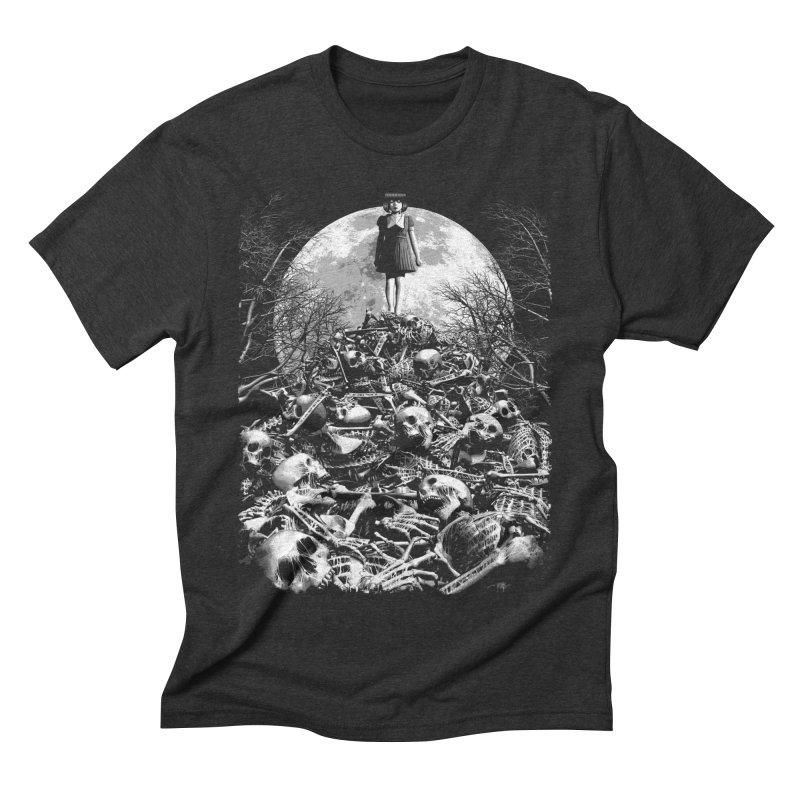 Mountain of Bones Men's Triblend T-Shirt by ramos's Artist Shop