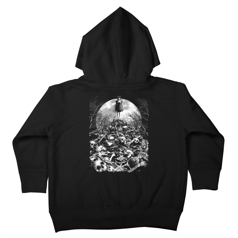 Mountain of Bones Kids Toddler Zip-Up Hoody by ramos's Artist Shop