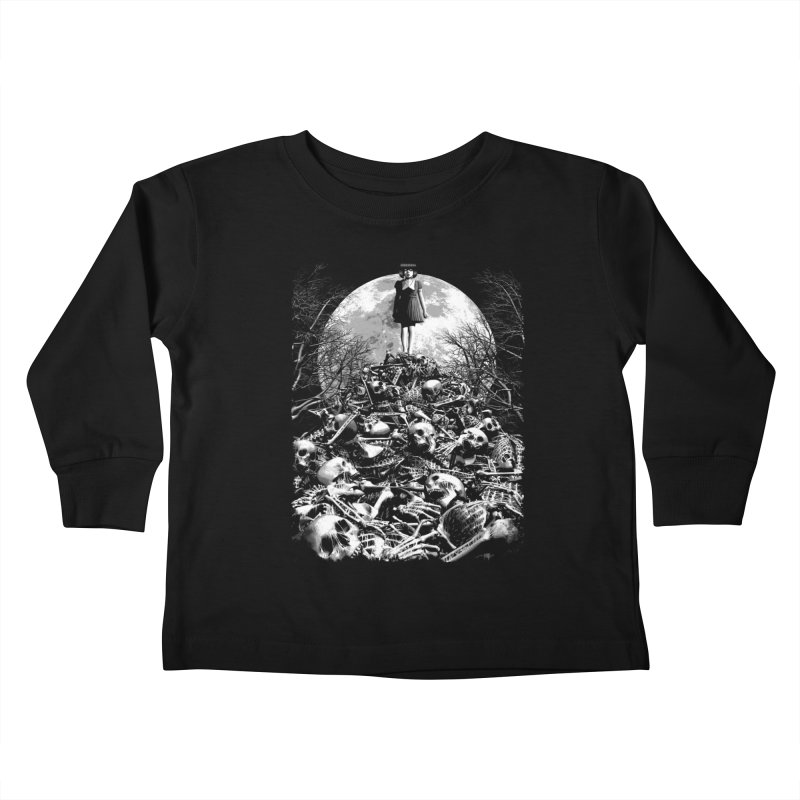 Mountain of Bones Kids Toddler Longsleeve T-Shirt by ramos's Artist Shop