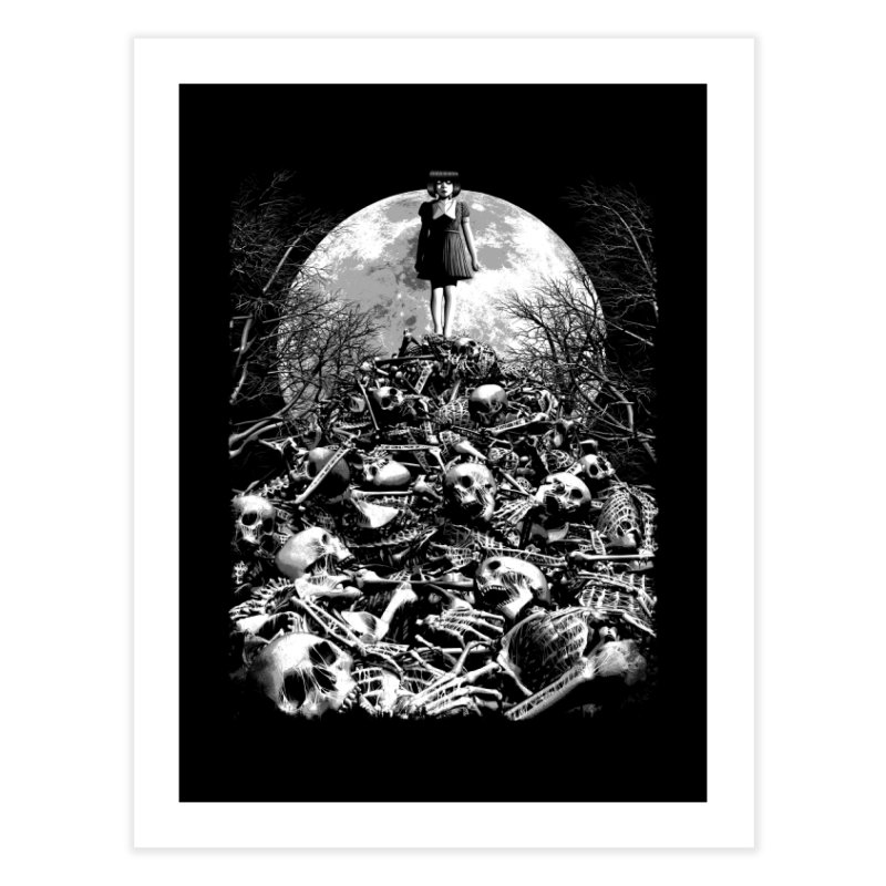 Mountain of Bones Home Fine Art Print by ramos's Artist Shop