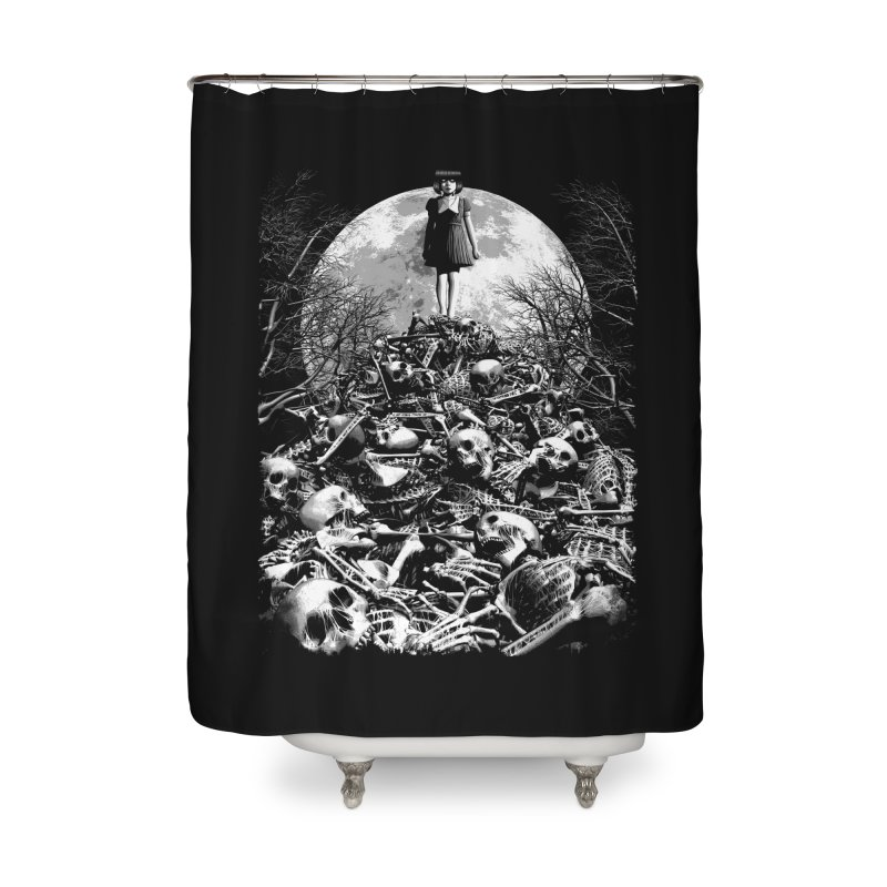 Mountain of Bones Home Shower Curtain by ramos's Artist Shop