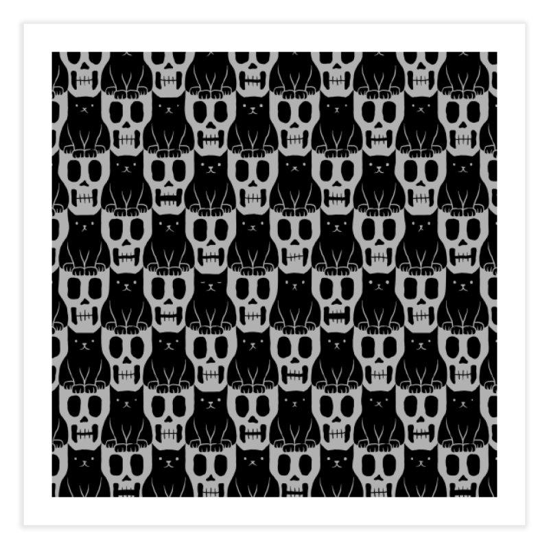 Skulls & Cats   by ramos's Artist Shop
