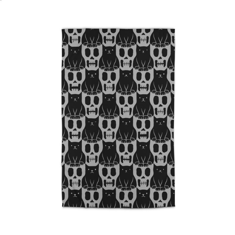 Skulls & Cats Home Rug by ramos's Artist Shop