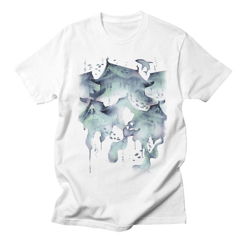 Underwater Temple Women's Unisex T-Shirt by ramos's Artist Shop