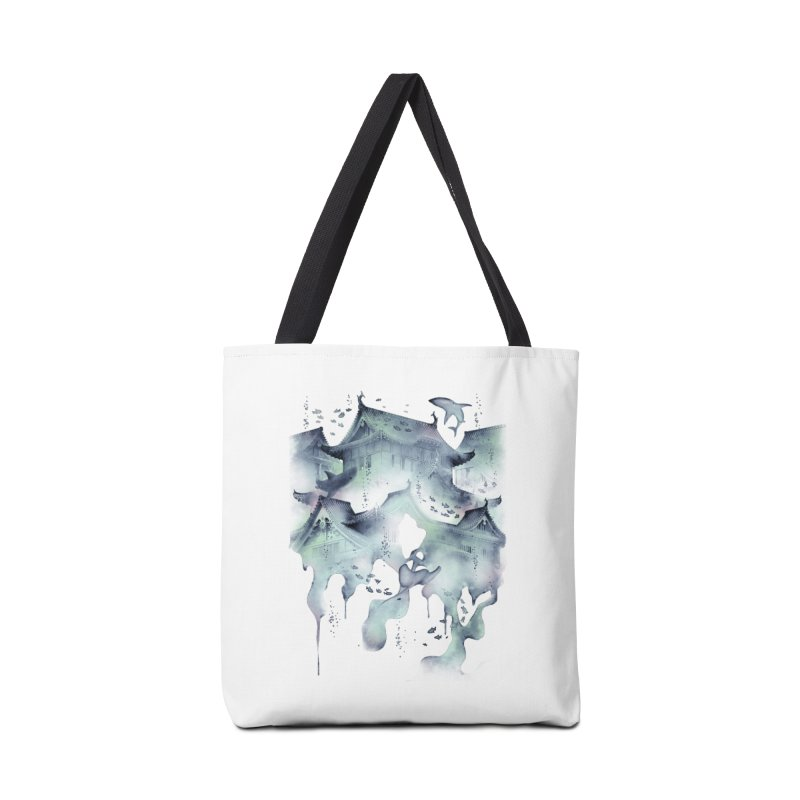 Underwater Temple Accessories Bag by ramos's Artist Shop