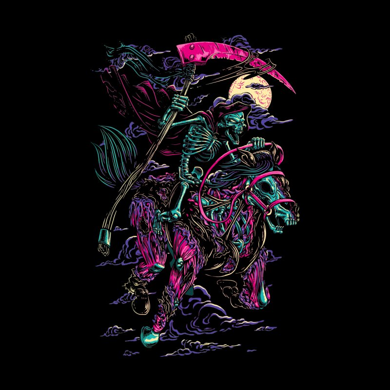 Death Rider Kids Toddler T-Shirt by ramos's Artist Shop