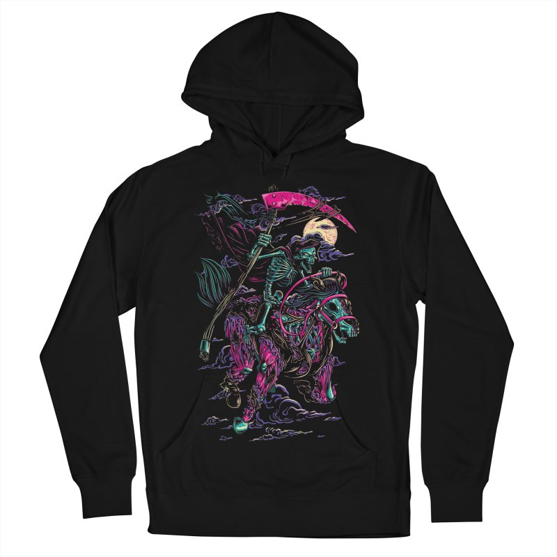 Death Rider Men's Pullover Hoody by ramos's Artist Shop