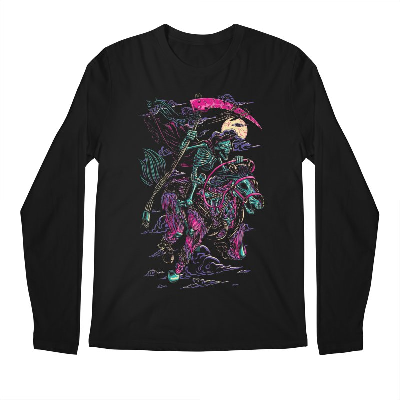 Death Rider Men's Regular Longsleeve T-Shirt by ramos's Artist Shop