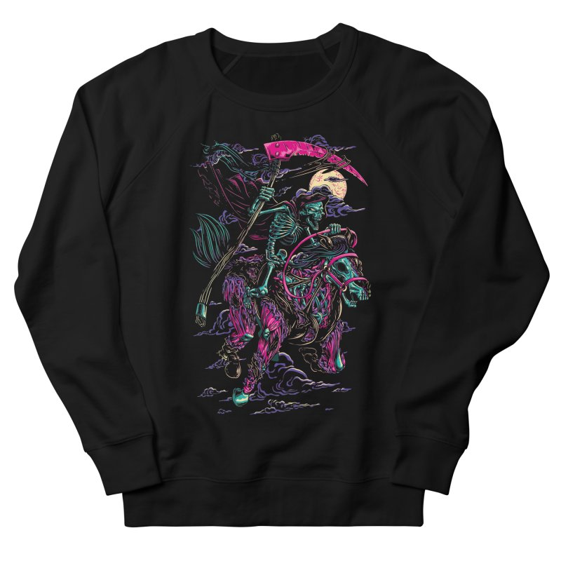 Death Rider Women's French Terry Sweatshirt by ramos's Artist Shop