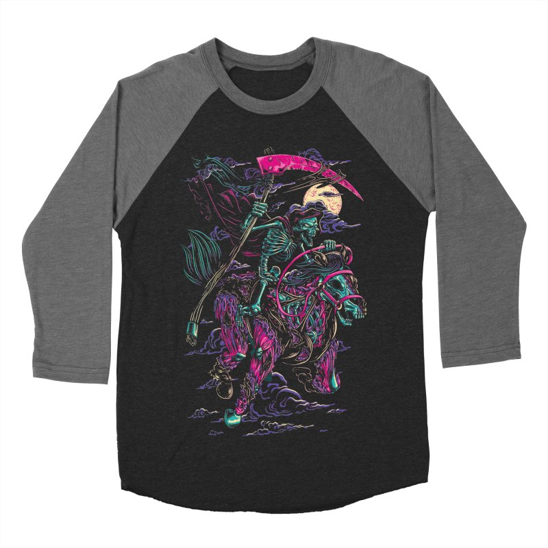 Death Rider Men's Baseball Triblend T-Shirt by ramos's Artist Shop