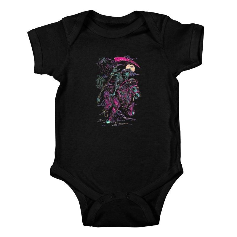 Death Rider Kids Baby Bodysuit by ramos's Artist Shop