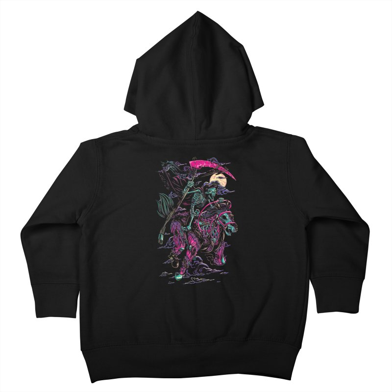 Death Rider Kids Toddler Zip-Up Hoody by ramos's Artist Shop
