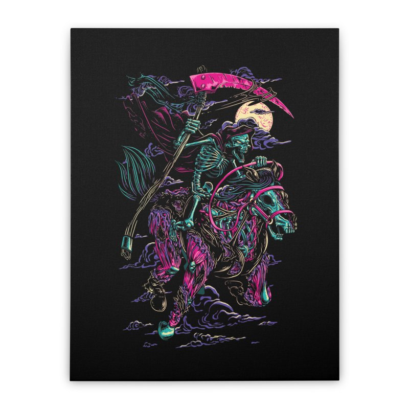 Death Rider Home Stretched Canvas by ramos's Artist Shop