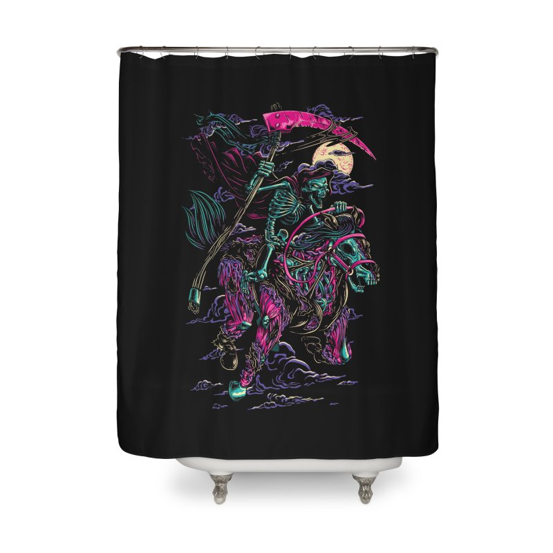 Death Rider Home Shower Curtain by ramos's Artist Shop