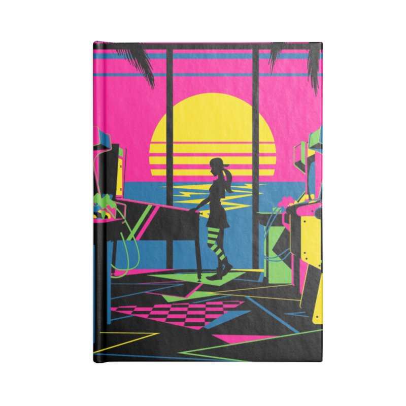Play All Night Accessories Notebook by ramos's Artist Shop
