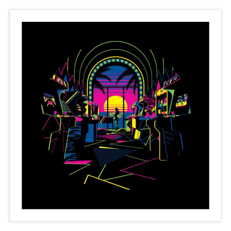 Play All Night Home Fine Art Print by ramos's Artist Shop