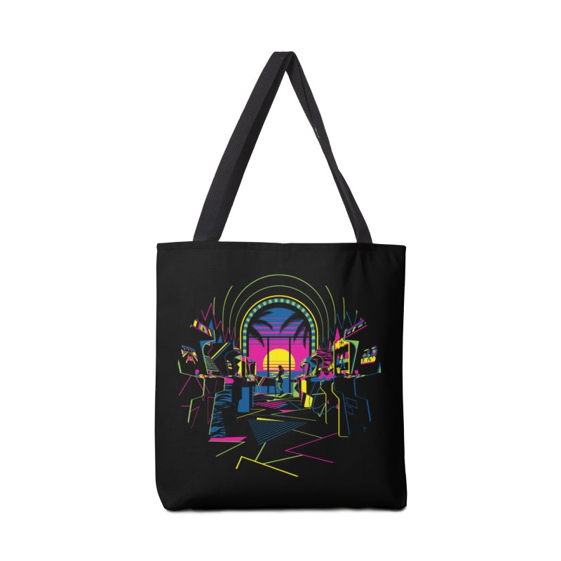 Play All Night Accessories Bag by ramos's Artist Shop