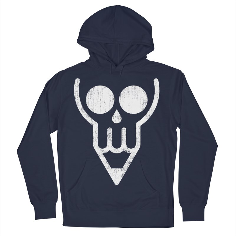 Skull & Pencil Men's Pullover Hoody by ramos's Artist Shop