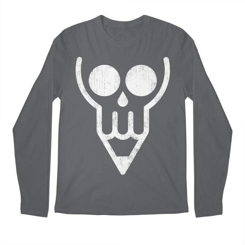 Skull & Pencil Men's Regular Longsleeve T-Shirt by ramos's Artist Shop