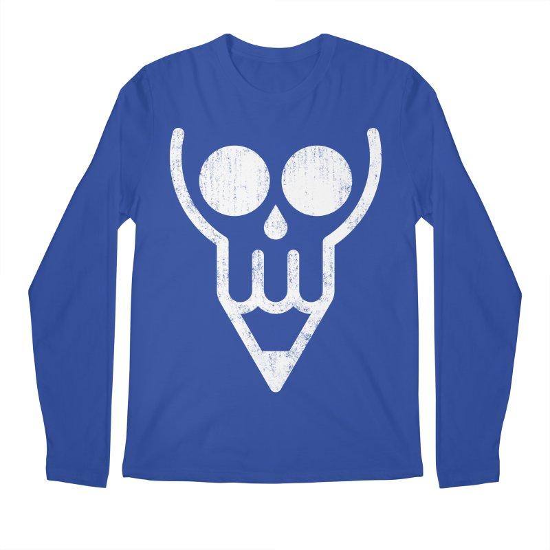 Skull & Pencil Men's Longsleeve T-Shirt by ramos's Artist Shop