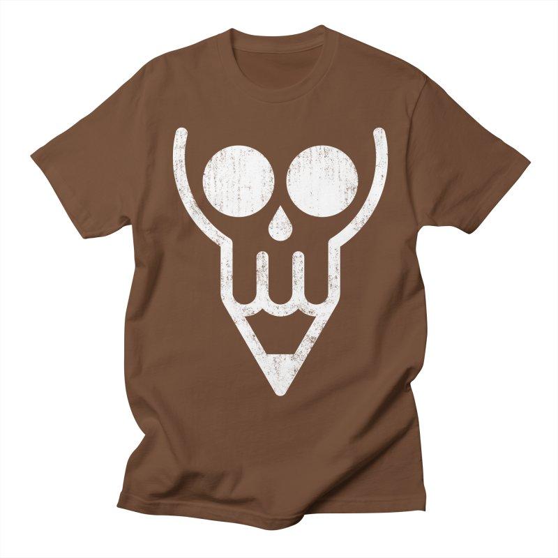 Skull & Pencil Men's T-shirt by ramos's Artist Shop