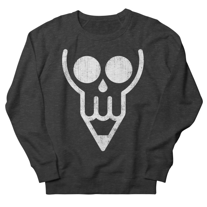 Skull & Pencil Women's French Terry Sweatshirt by ramos's Artist Shop