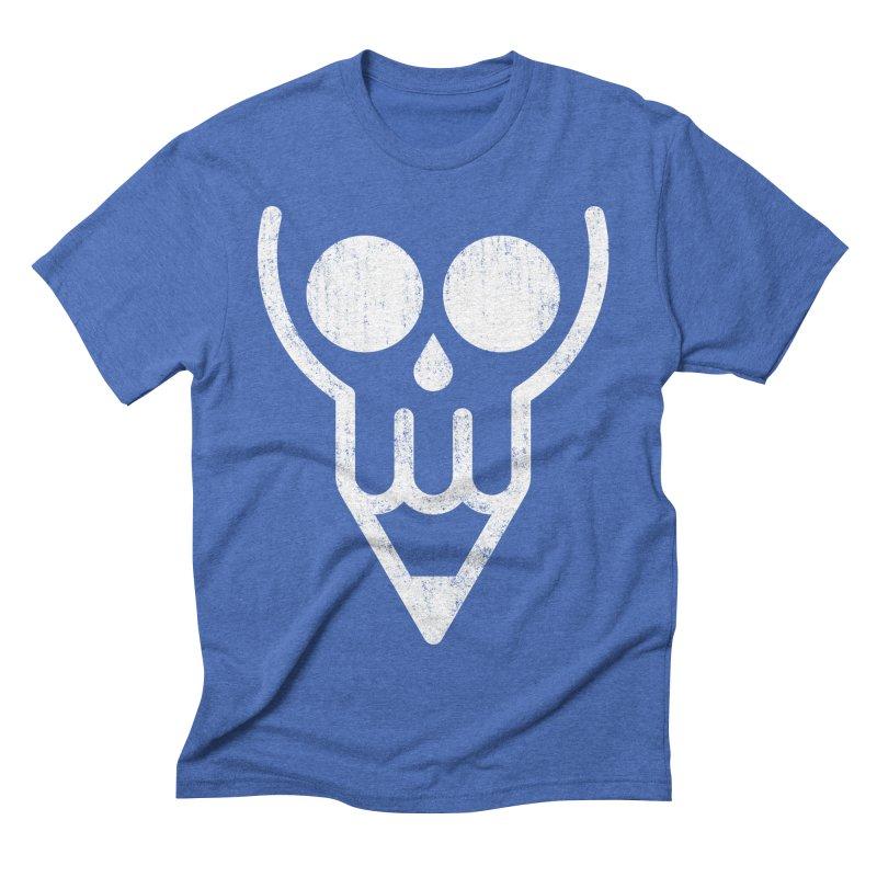 Skull & Pencil Men's Triblend T-shirt by ramos's Artist Shop