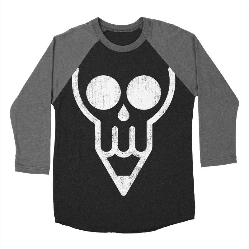 Skull & Pencil Women's Baseball Triblend T-Shirt by ramos's Artist Shop