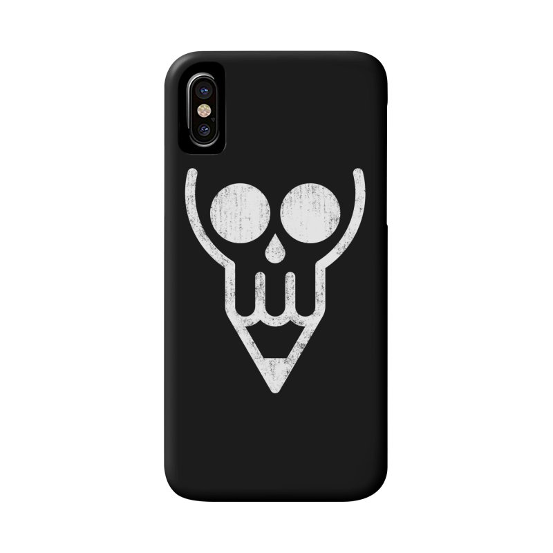 Skull & Pencil Accessories Phone Case by ramos's Artist Shop