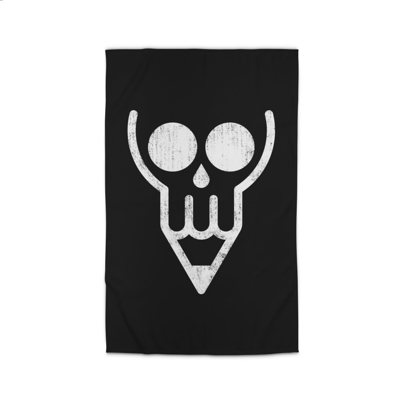 Skull & Pencil Home Rug by ramos's Artist Shop