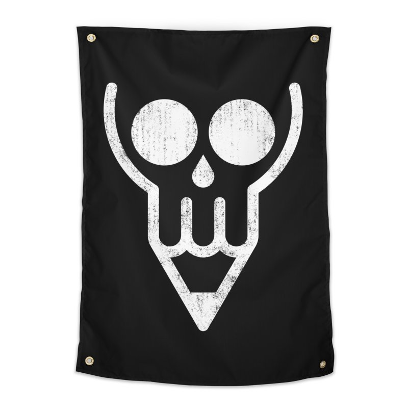 Skull & Pencil Home Tapestry by ramos's Artist Shop