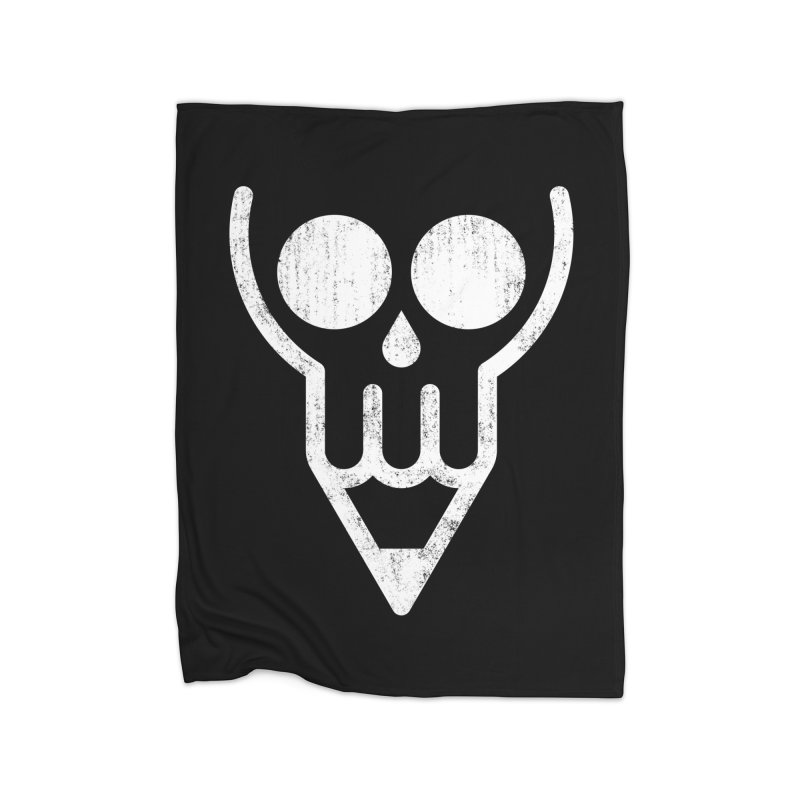 Skull & Pencil Home Blanket by ramos's Artist Shop