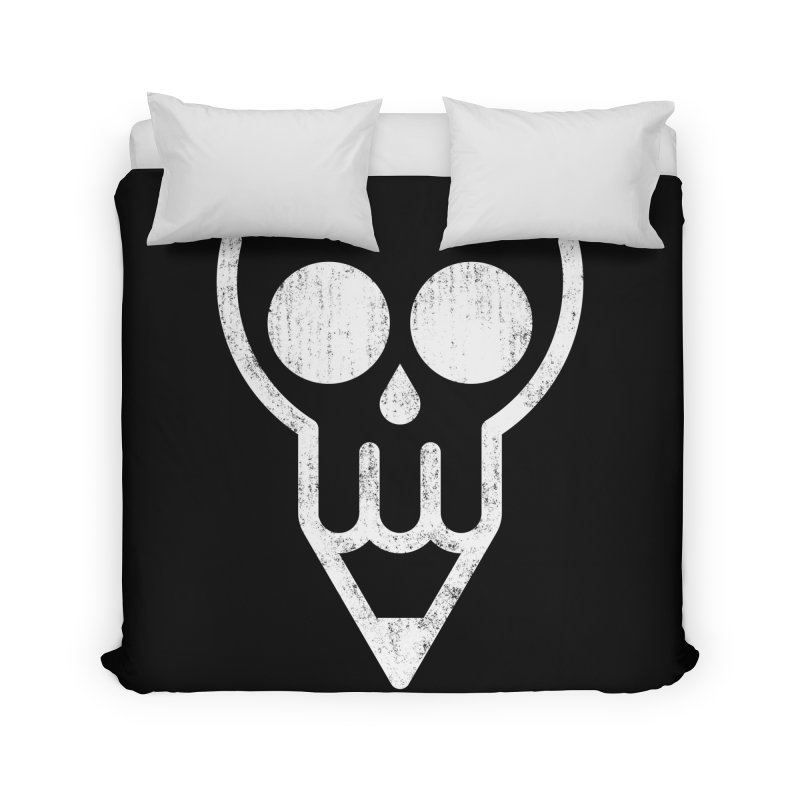 Skull & Pencil Home Duvet by ramos's Artist Shop