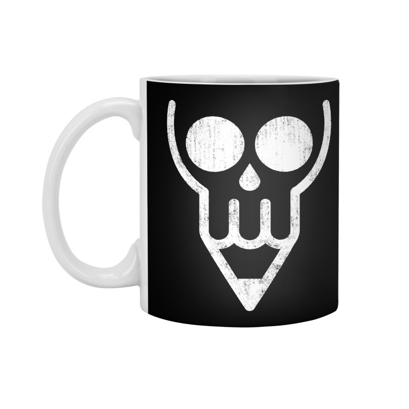 Skull & Pencil Accessories Mug by ramos's Artist Shop