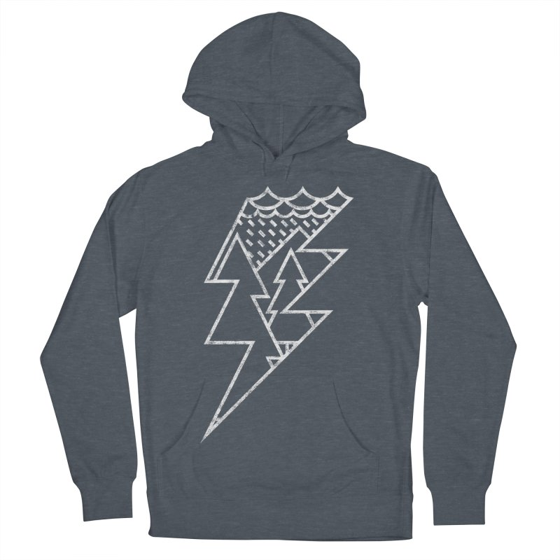 Storm in the forest Men's Pullover Hoody by ramos's Artist Shop