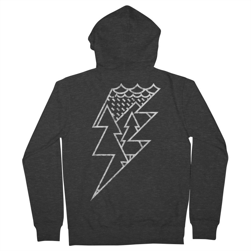 Storm in the forest Women's Zip-Up Hoody by ramos's Artist Shop