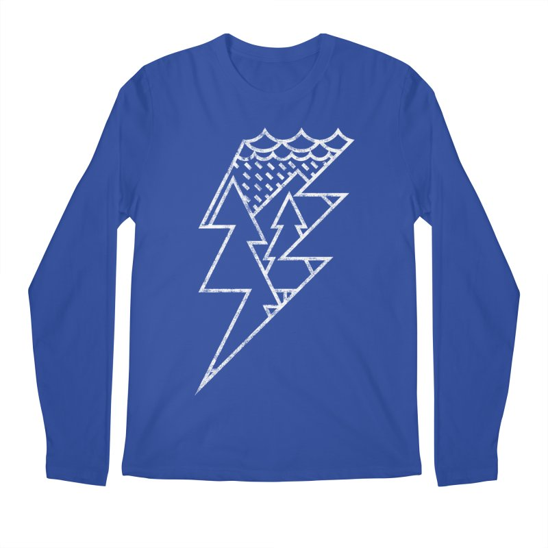 Storm in the forest Men's Regular Longsleeve T-Shirt by ramos's Artist Shop