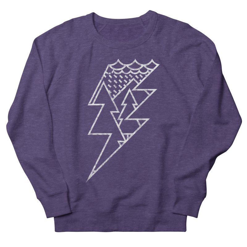Storm in the forest Men's Sweatshirt by ramos's Artist Shop