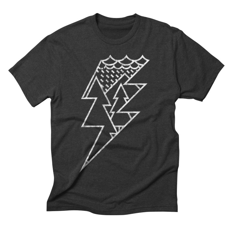 Storm in the forest Men's Triblend T-Shirt by ramos's Artist Shop