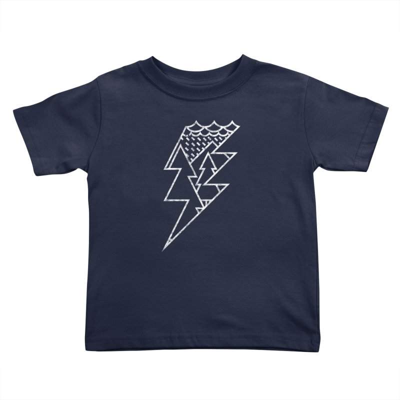 Storm in the forest Kids Toddler T-Shirt by ramos's Artist Shop