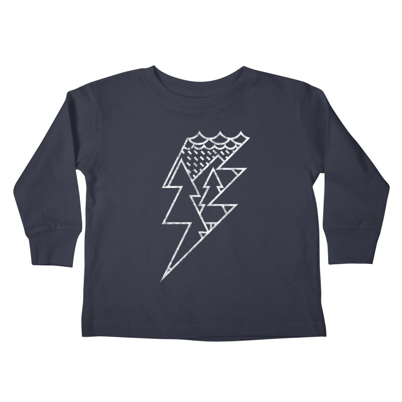 Storm in the forest Kids Toddler Longsleeve T-Shirt by ramos's Artist Shop
