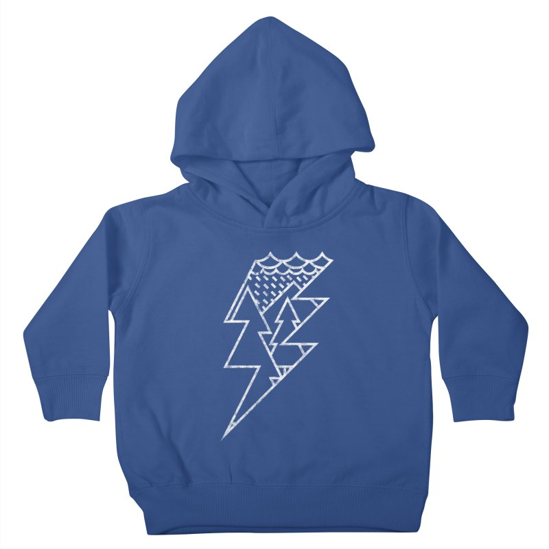 Storm in the forest Kids Toddler Pullover Hoody by ramos's Artist Shop