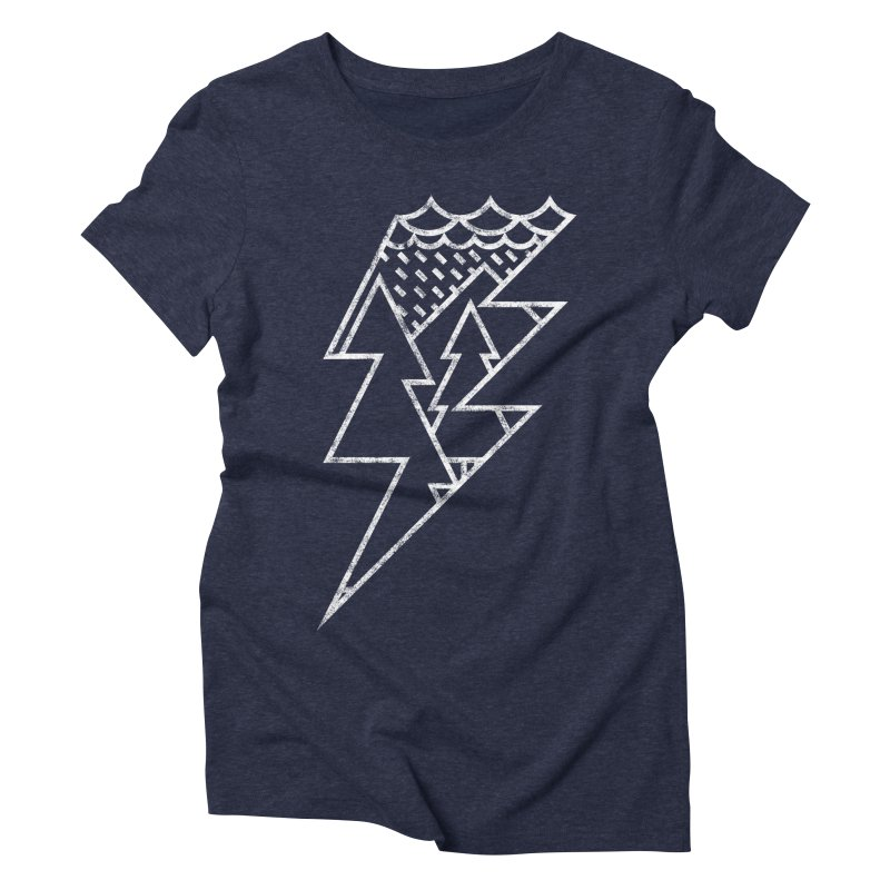 Storm in the forest Women's Triblend T-Shirt by ramos's Artist Shop