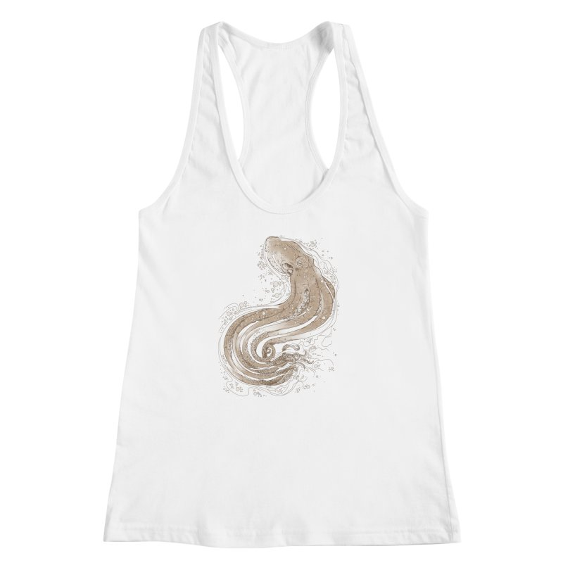 Optical Tentacles Women's Racerback Tank by ramos's Artist Shop