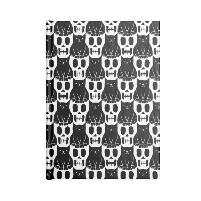 Skulls & Cats Accessories Notebook by ramos's Artist Shop