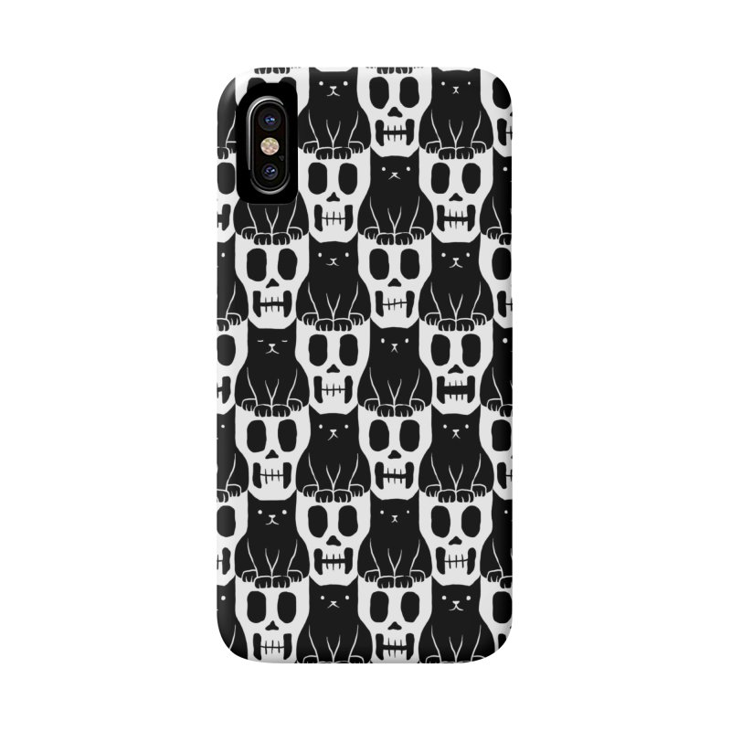 Skulls & Cats Accessories Phone Case by ramos's Artist Shop