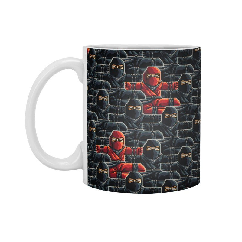 Ninja Kicks Accessories Mug by ramos's Artist Shop